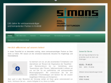Screenshot der Domain simons-online.de