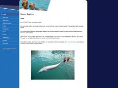 Screenshot der Domain simonsdelfintherapie.de