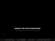 Screenshot der Domain simonthephotographer.com