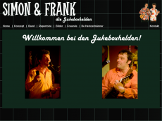 Screenshot der Domain simonundfrank.de