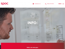 Screenshot der Domain simonzoller.de