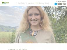 Screenshot von soonwald-fee.de