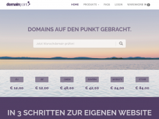 Screenshot der Domain soopera.de