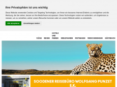 Screenshot der Domain soorb.de