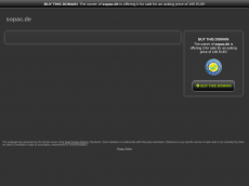 Screenshot der Domain sopac.de