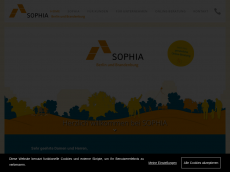 Screenshot der Domain sophia-berlin.de