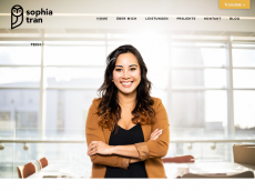 Screenshot der Domain sophia-tran.de