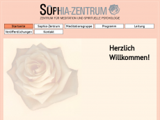 Screenshot der Domain sophia-zentrum.de