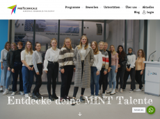 Screenshot der Domain sophiatec.de
