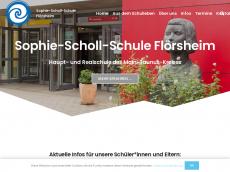 Screenshot der Domain sophie-scholl-schule-floersheim.de