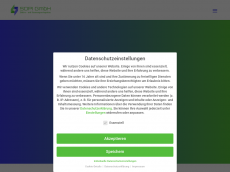 Screenshot der Domain sopi-gmbh.de