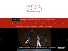 Screenshot der Domain starlightshow.com