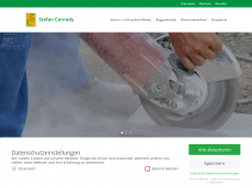 Screenshot der Domain stefanconrady.de
