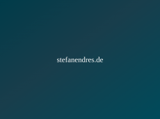 Screenshot der Domain stefanendres.de