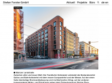Screenshot der Domain stefanforsterarchitekten.de