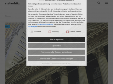 Screenshot der Domain stefanfritz.de