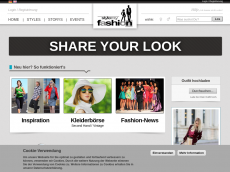 Screenshot der Domain stylemyfashion.de