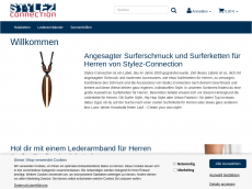 Screenshot der Domain stylesconnection.de