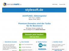 Screenshot der Domain stylesoft.de