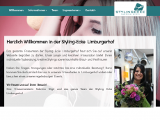 Screenshot der Domain styling-ecke.de