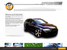 Screenshot der Domain styling-house.de