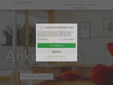 Screenshot der Domain stylingroom.de