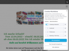 Screenshot der Domain stylish-dog.de
