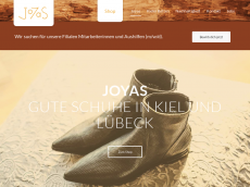 Screenshot der Domain stylish-shoes.de