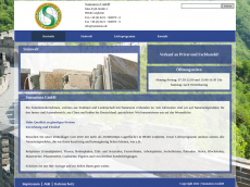 Screenshot der Domain sunnatursteine.de