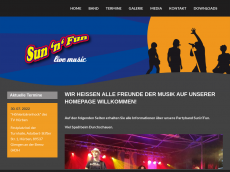 Screenshot der Domain sunnfun.de