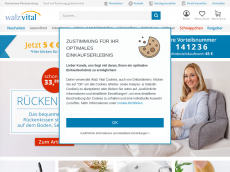 Screenshot der Domain sunni-walz.de