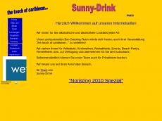Screenshot von sunny-drink.de