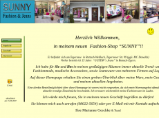 Screenshot der Domain sunny-jeans.de