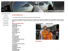 Screenshot der Domain sunnyandsunshine.de
