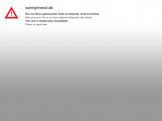 Screenshot der Domain sunnyinvest.de