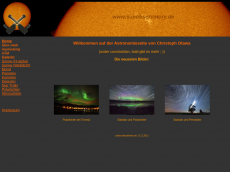 Screenshot der Domain sunobservatory.de