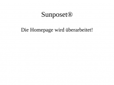 Screenshot der Domain sunposet.de