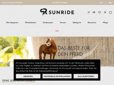 Screenshot von sunride.de