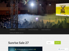 Screenshot von sunrise-sale.de