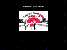 Screenshot der Domain sunrise-swingers-erding.de