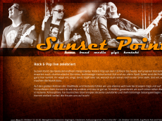 Screenshot der Domain sunset-point.de