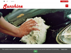 Screenshot der Domain sunshine-autopflege.de
