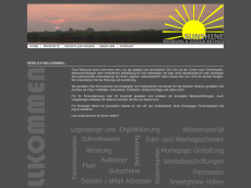 Screenshot der Domain sunshine-bremen.de