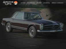 Screenshot der Domain sunshine-cars.de