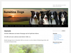 Screenshot der Domain sunshine-dogs.de