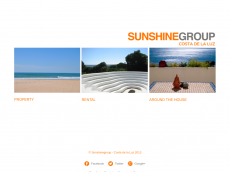 Screenshot der Domain sunshine-group.net