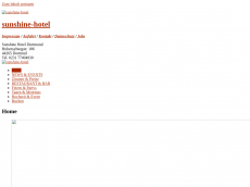 Screenshot der Domain sunshine-hotel.de