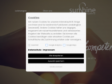 Screenshot der Domain sunshine-pflegedienst.de