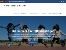 Screenshot der Domain sunshine-project.de