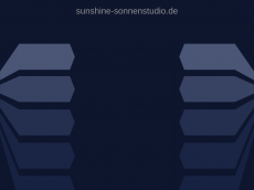 Screenshot der Domain sunshine-sonnenstudio.de